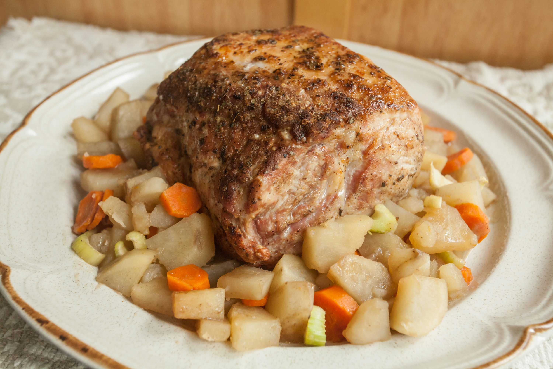 How to Cook a 4-Lb Boneless Pork Loin   Cooking pork loin ...