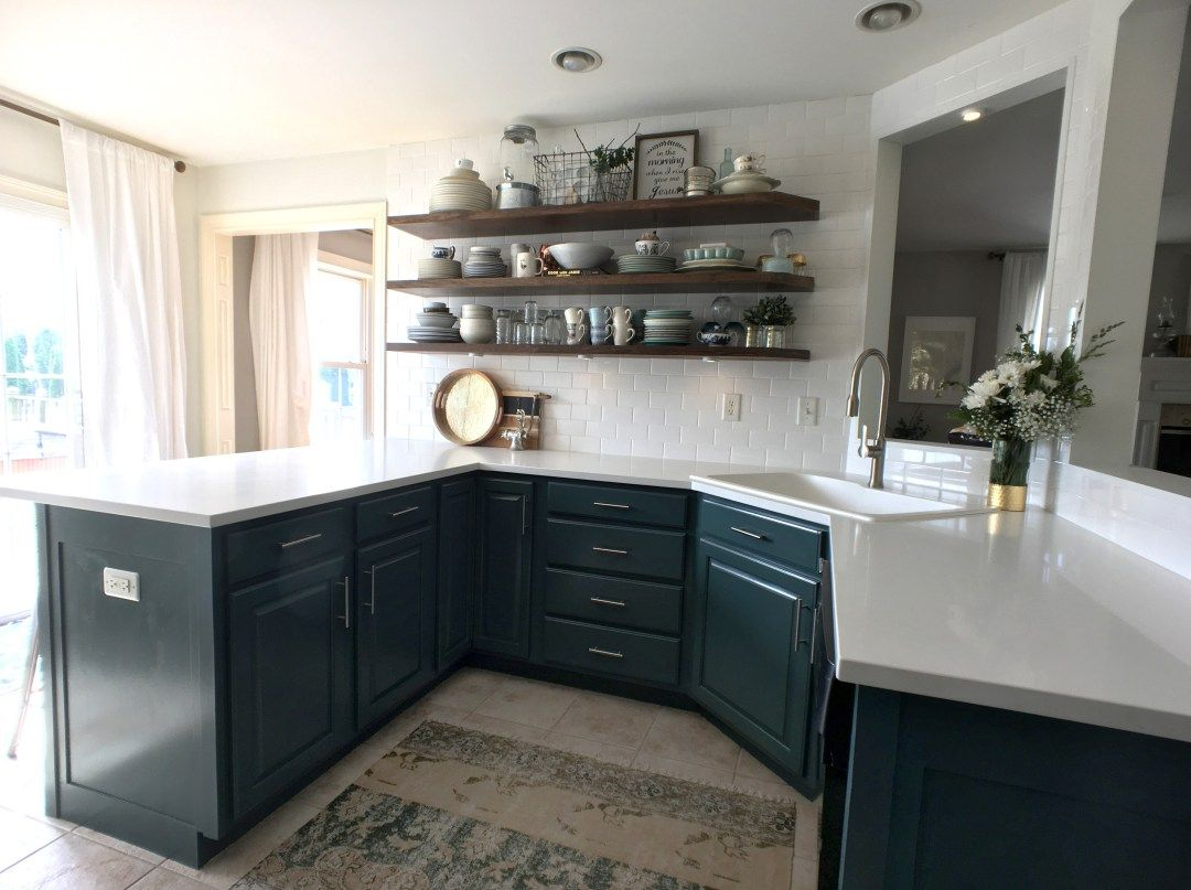 Pin on episode #54: painting cabinets // kitchen reno series