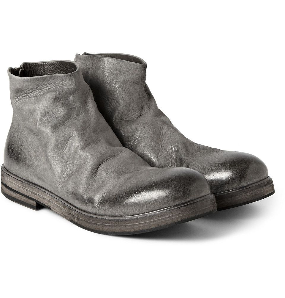 Marsell - Leather Ankle Boots | MR PORTER