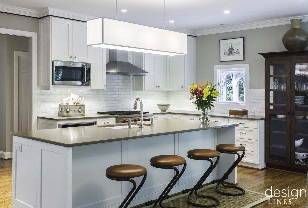 Design Lines Modern Kitchen Remodel Raleigh NC