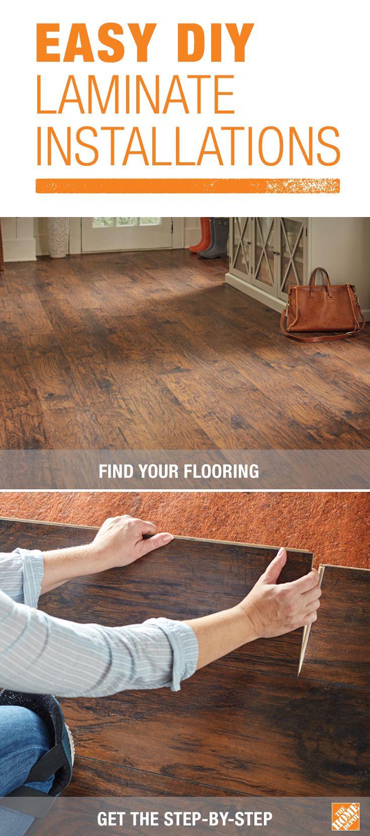 Most Diyers Can Install An Entire Room Of Laminate Flooring In One Day Most Laminate Flooring Comes In Plan Home Repairs Installing Laminate Flooring Flooring