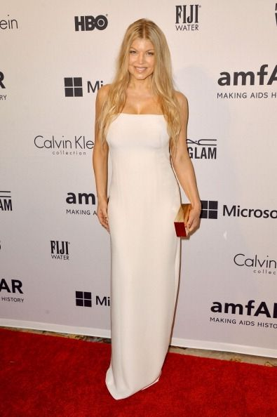 Fabulously Spotted: Fergie Wearing Calvin Klein Collection