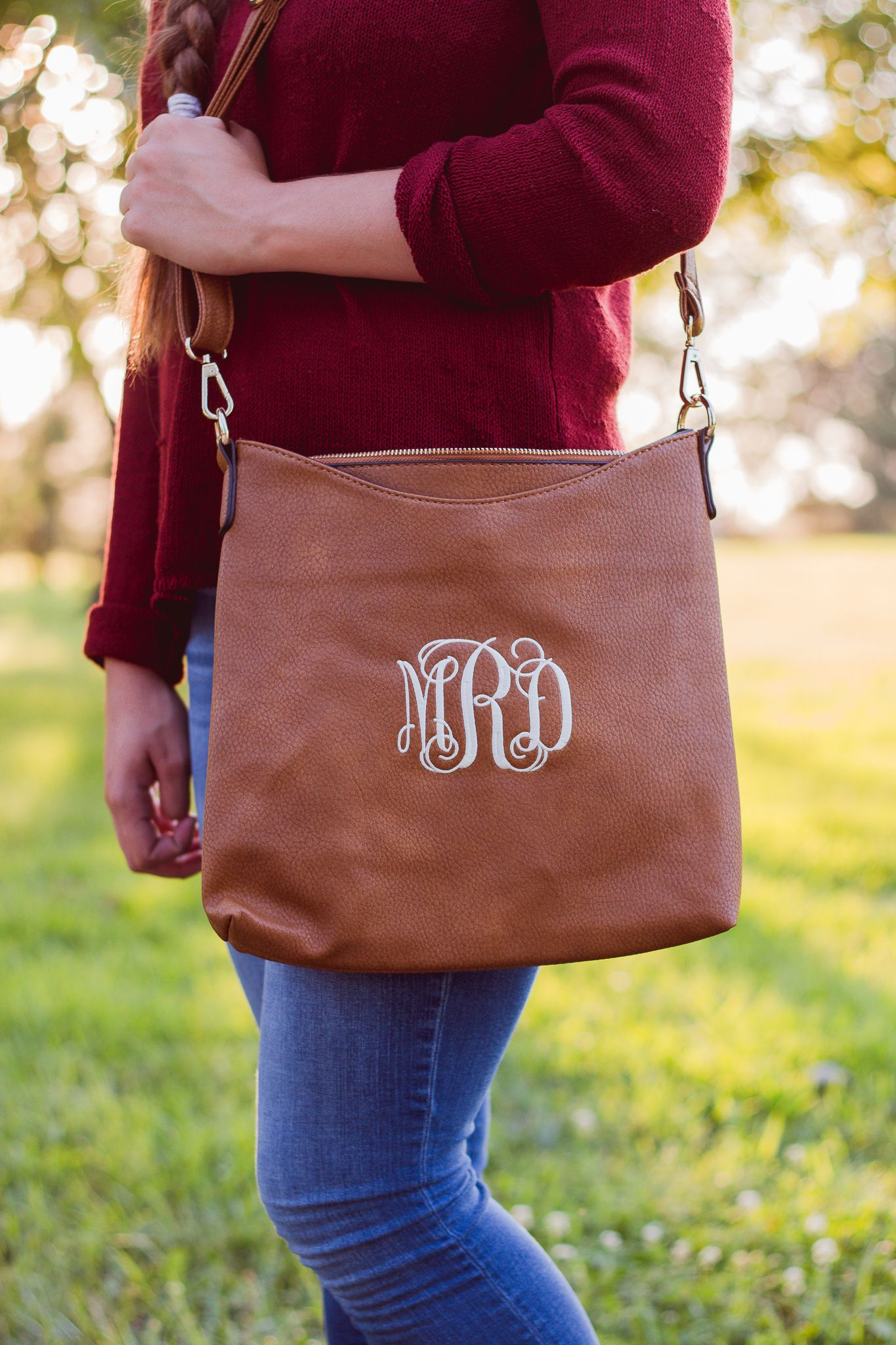 bd6da4904 Monogrammed Crossbody Bag | Faux Leather Crossbody | Ladies Crossbody | Monogram  Purse | Crossbody Purse | Everyday Bag | Memphis