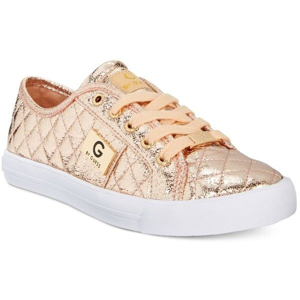 Rose gold sneakers, Guess shoes
