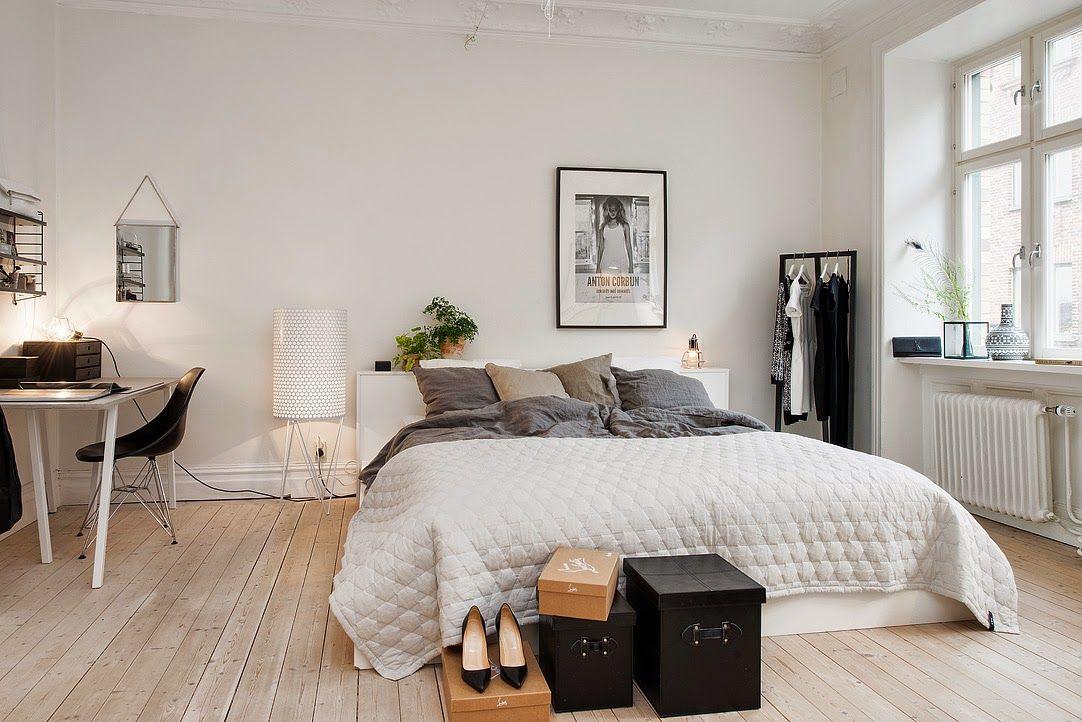 Duvet Day In This Beautiful Swedish Bedroom Scandinavian Bedroom Decor Swedish Bedroom Bedroom Interior