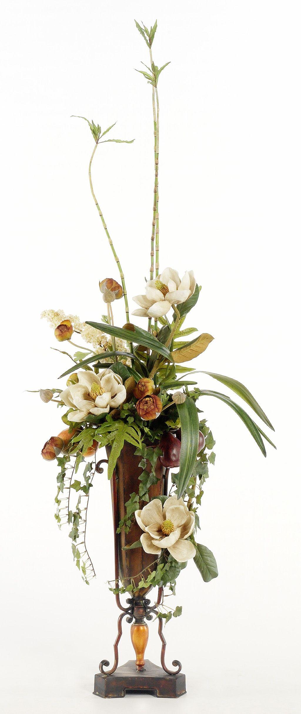 Silk Floral Arrangement Flower Arrangements Pinterest Silk