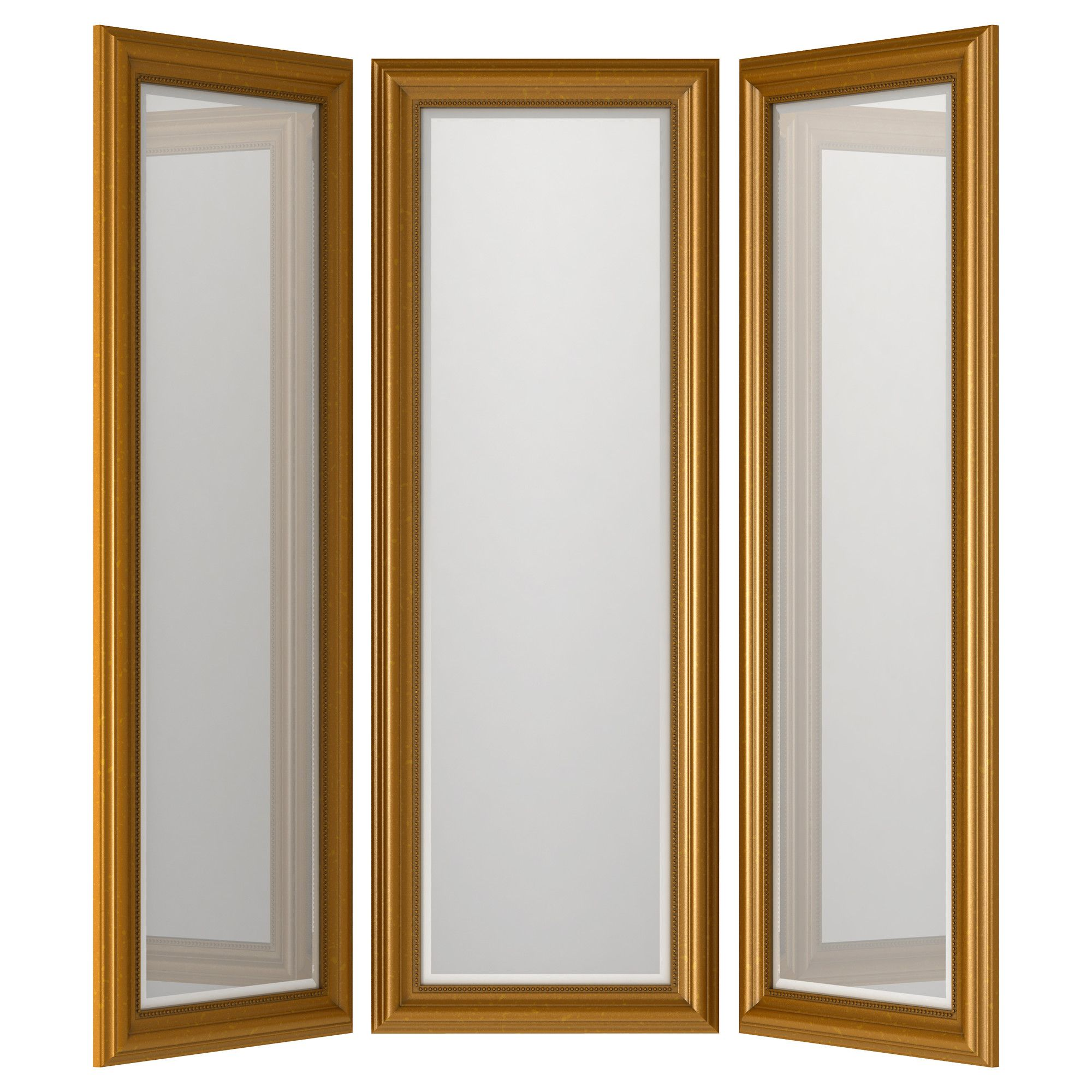 Great LEVANGER Mirror   IKEA. On Hinges So You Can See All Angles Before You Head  Out The Door!