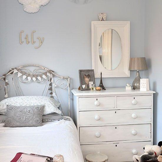 Hervorragend Hellblau Weiß Mädchen Schlafzimmer Wohnideen Living Ideas