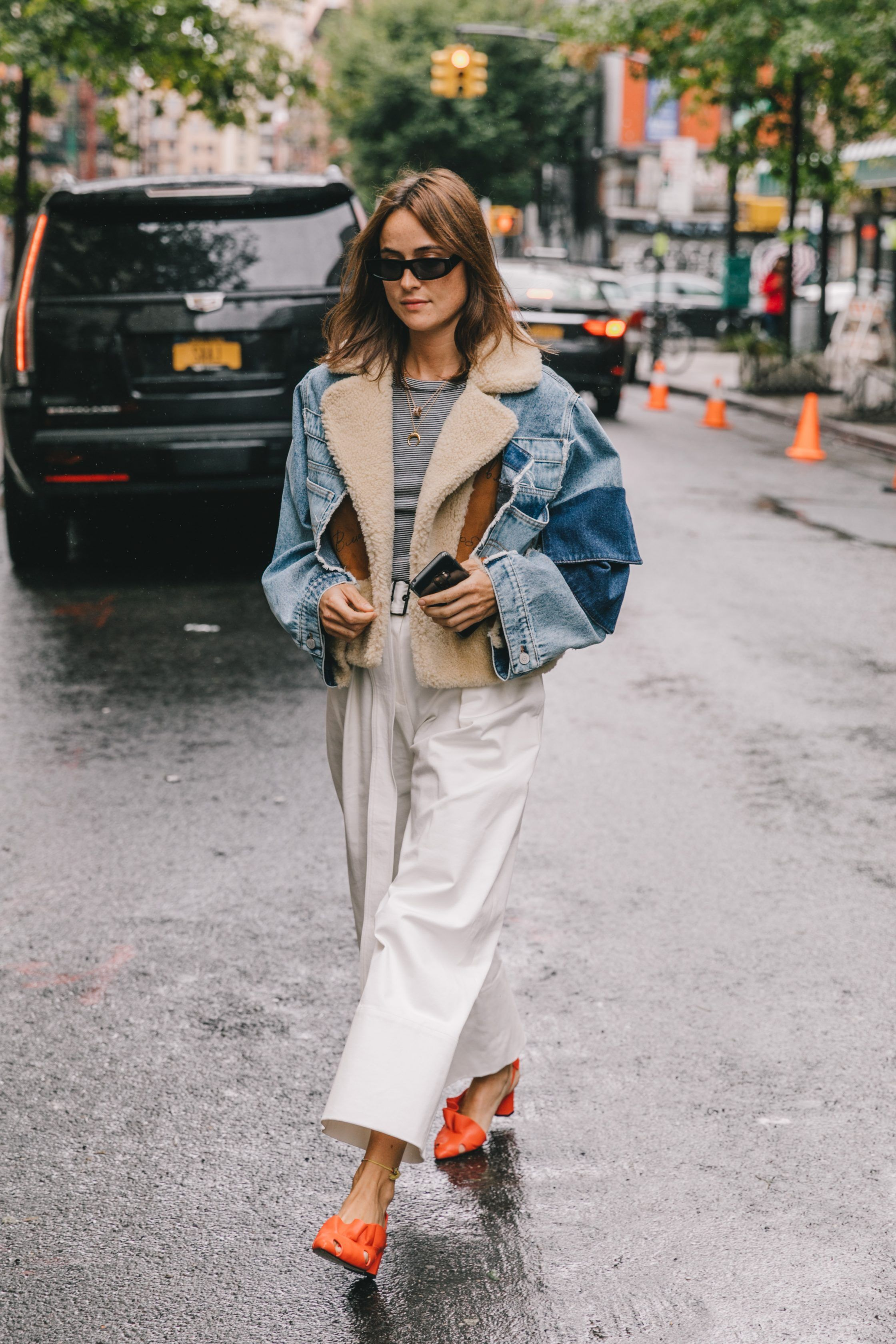 Spring Summer 2019 Street Style from New York Fashion Week