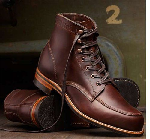 Amazon.com: Wolverine 1000 Mile Men's COURTLAND Ankle Lace-Up Boots: Shoes
