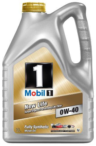 Mobil 1 New Life 151048 0w40 Fully Synthetic Motor Oil 5l New Life