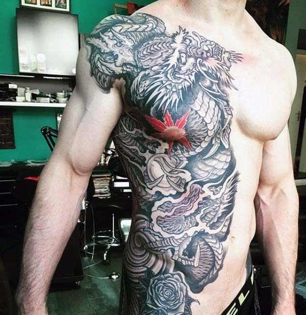 70 Chinese And Japanese Dragon Tattoo Designs And Their Actual Meanings In 2020 Japanese Dragon Tattoo Dragon Tattoo Japanese Dragon
