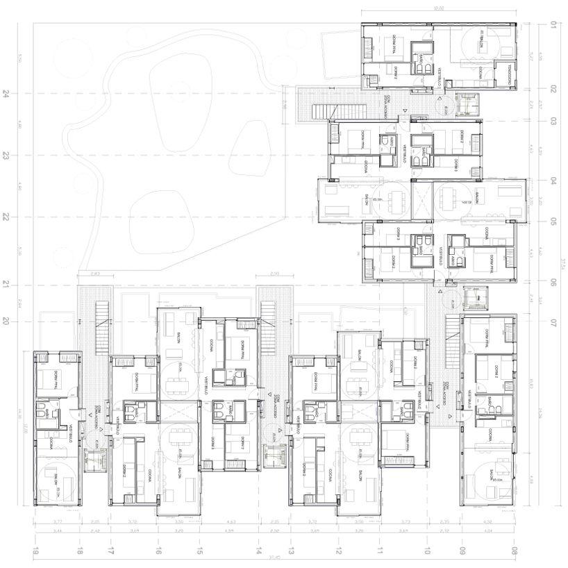 untercio arquitectura: vallecas 47 social housing project, madrid