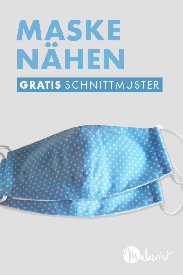 Photo of Nähmaske – freies Schnittmuster