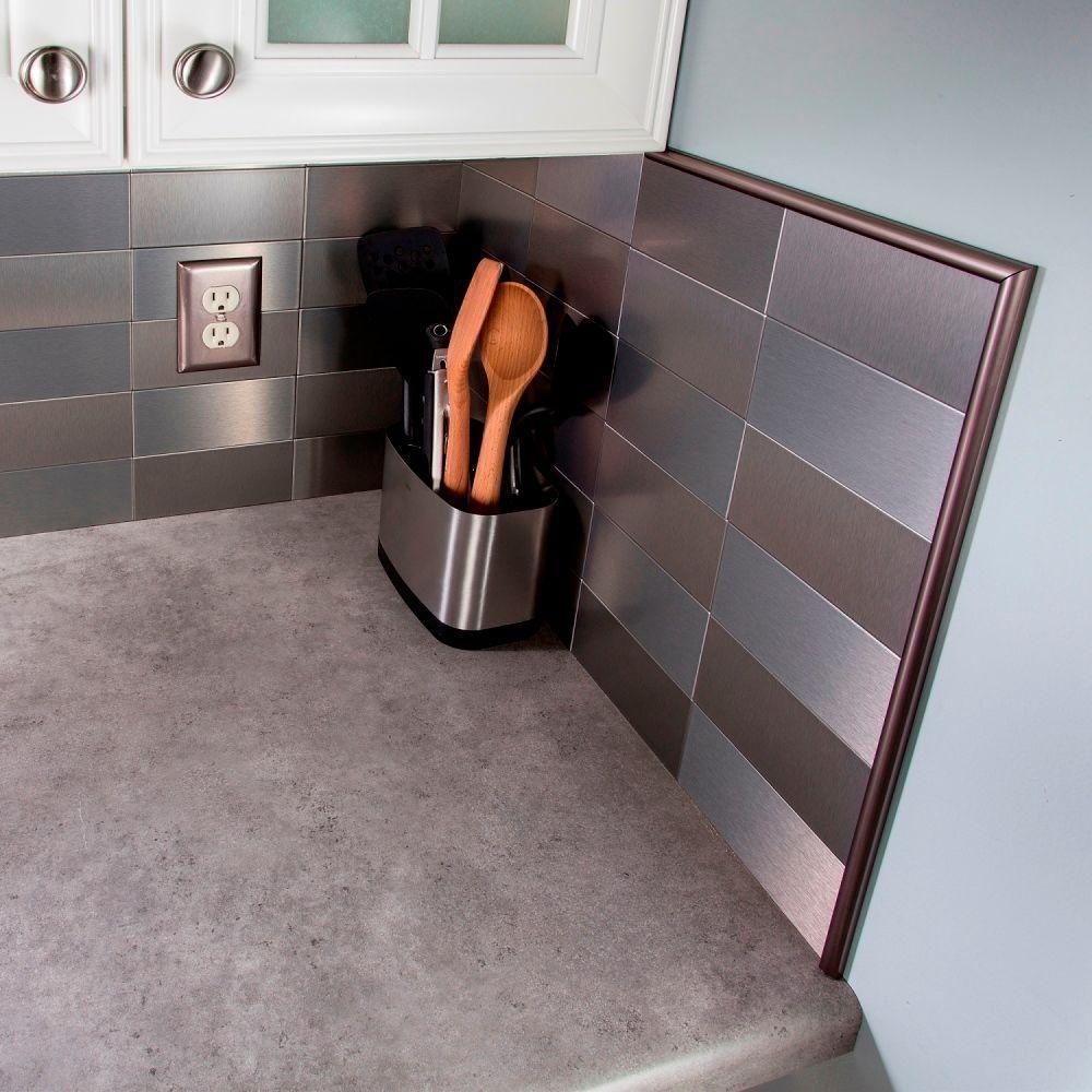 Backsplash Trim Pieces Love The Glass Tile Backsplash Do You Have