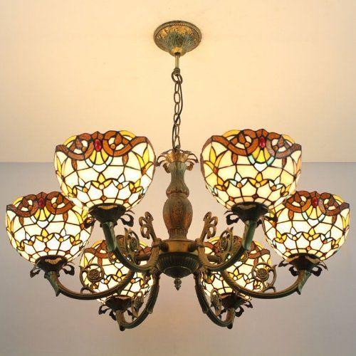 Classic floyd tiffany chandelier tiffany lighting company http www amazon co