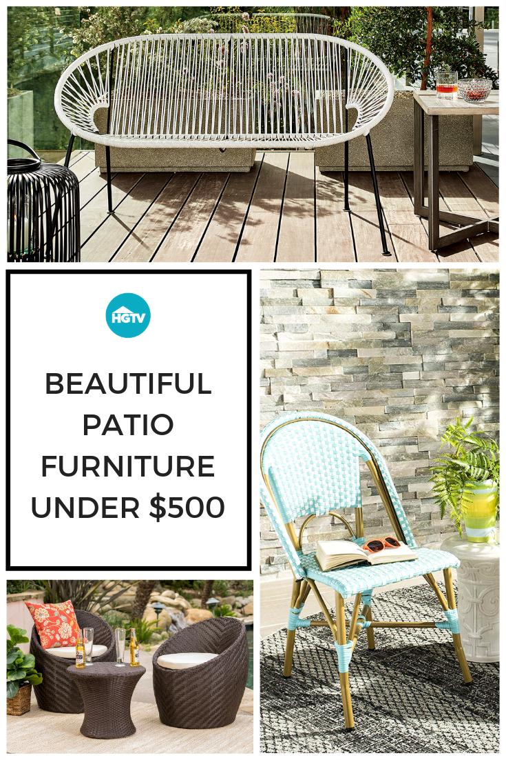 Patio Furniture Sets Under 500