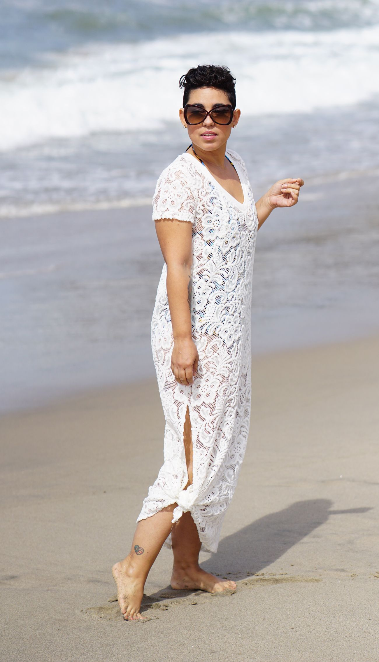 My Diy Beach Cover Up Mimi G Style Beach Outfit For Women Style Swimwear Pattern