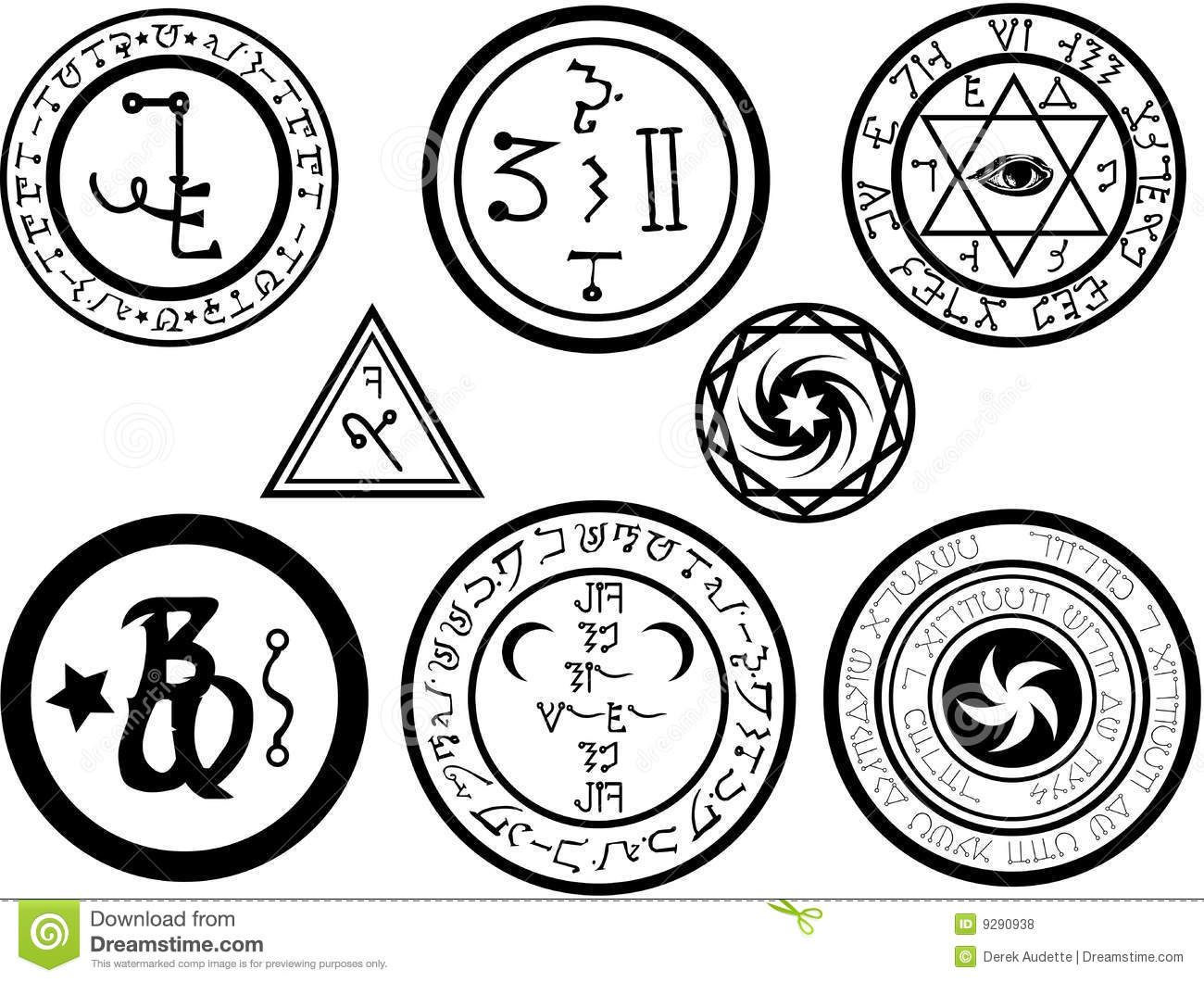 Alchemical symbols and magickal sigils royalty free stock photos mental alchemy symbol meaning buycottarizona