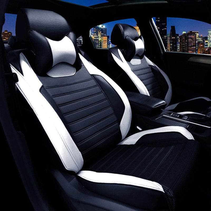 VW T5 HIGH QUALITY SEAT COVERS FULL ECO LEATHER AND DIAMOND STITCHING