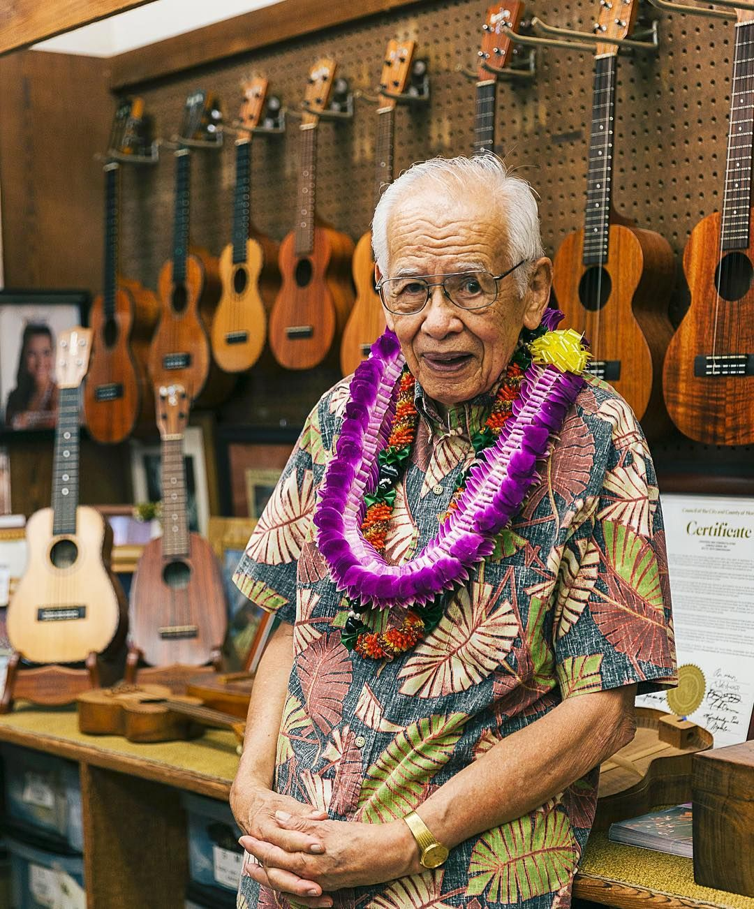 Happy birthday to fred kamaka of kamakaulele he turned 92 explore ukulele happy birthday and more hexwebz Choice Image