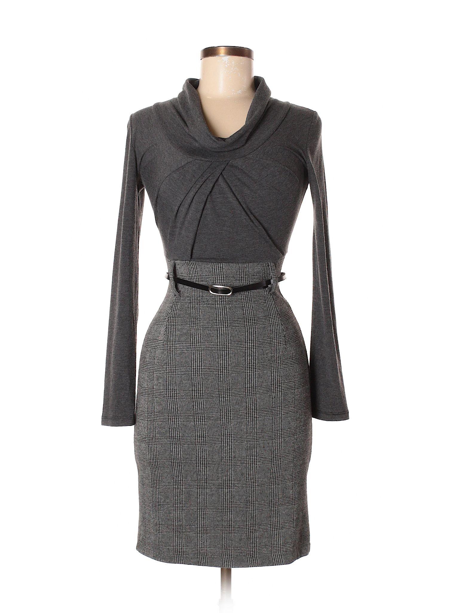 Rinascimento Plaid Color Block Gray Casual Dress Size Xs 84 Off Casual Dress Casual Dresses [ 2048 x 1536 Pixel ]