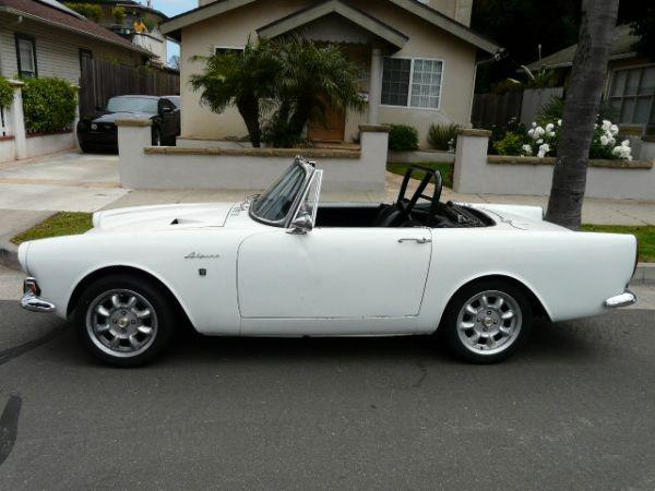 Awesome Rare 1967 Sunbeam 2800 V6 Alpine - $ 15000 (Santa ...