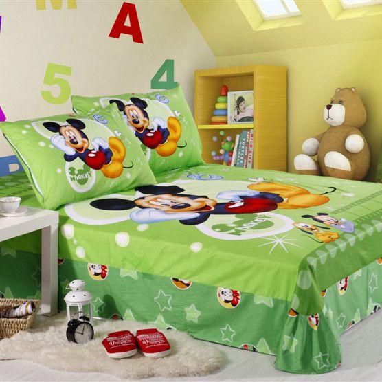 mickey mouse sheet3 556×556  kids bedding sets