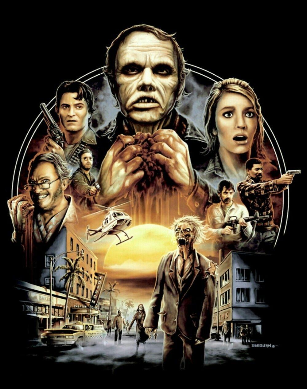 DAY OF THE DEAD Horror movie art, Movie artwork, Horror