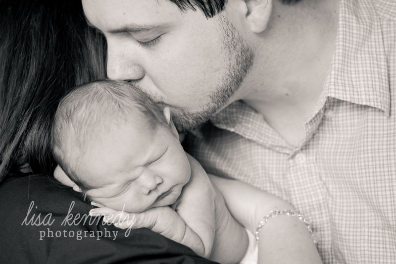 Love this sweet moment with Daddy.