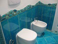 Piastrelle Bagno Turchese : Piastrelle bagno turchese transappenninica