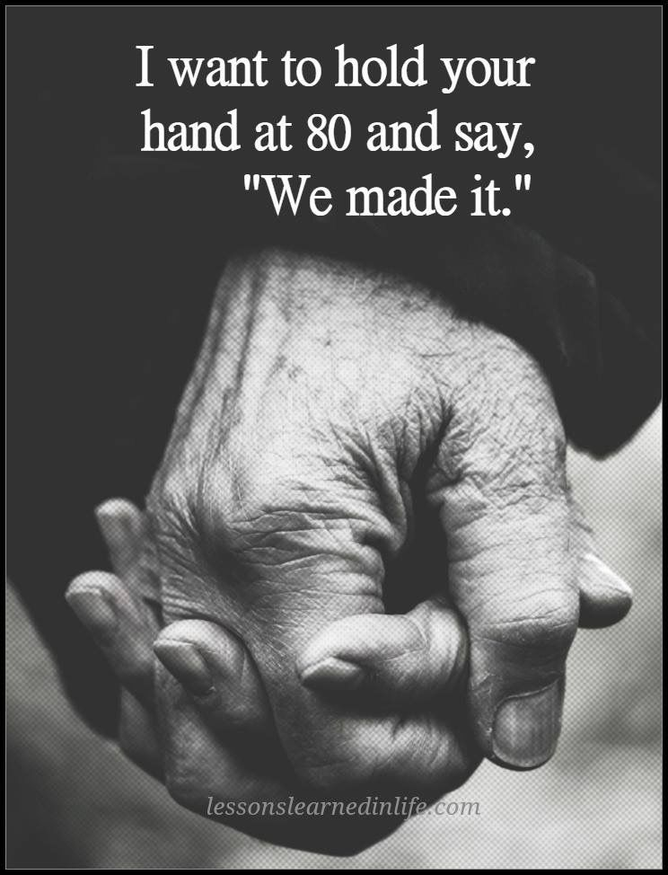 Thats Beautiful This Is Us When We Are 80 Years Old Still Holding