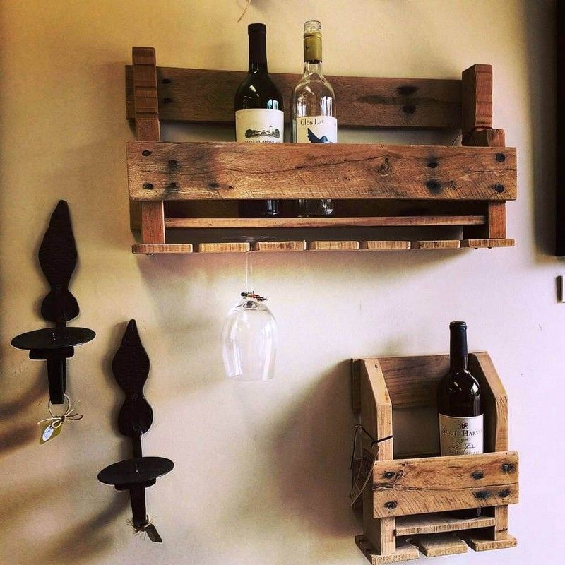 Cheap and creative achievements with used wood pallets