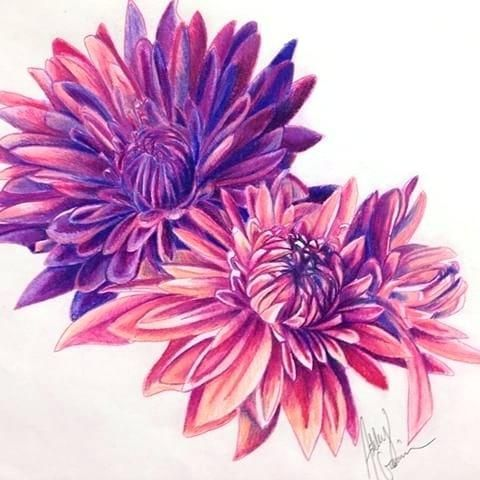 November Flower With Images Flower Tattoo Sleeve Crysanthemum Tattoo Flower Tattoo Shoulder