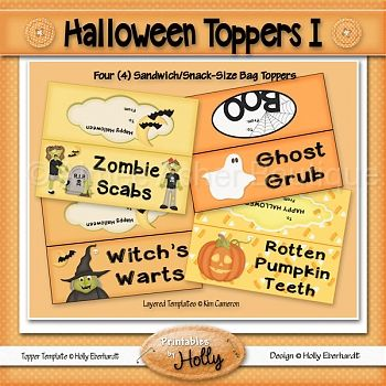 Halloween Toppers I :: Halloween :: Holidays :: Aimee Asher Boutique