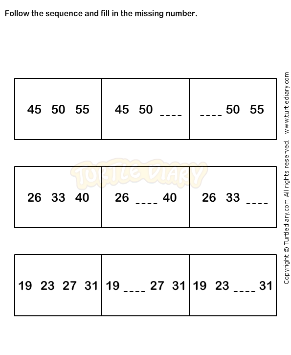 Number Sequence Worksheet 9 Math Worksheets Grade 1 Worksheets Math Worksheets 1st Grade Math Worksheets Kindergarten Math Worksheets