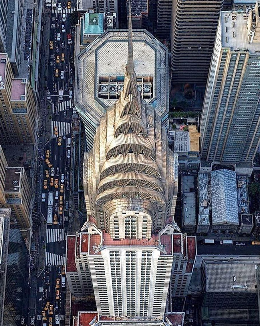 Aerial View Of The Chrysler Building New York Pictures Chrysler