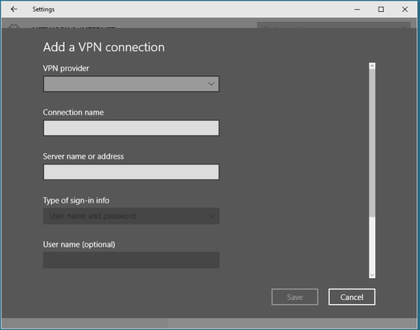 How To Create A Vpn Server Windows 10