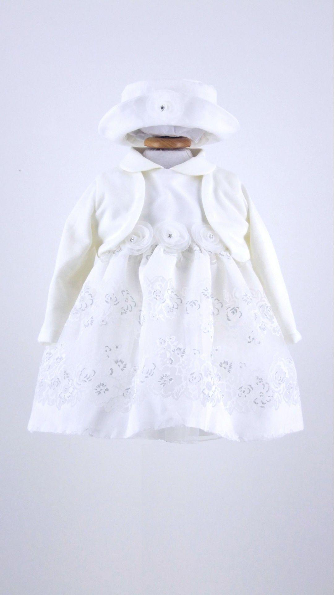 d7d8a5cf99da5 Abito Battesimo Bimba Nazareno Gabrielli - Abbigliamento Neonati Bolle di  Sapone