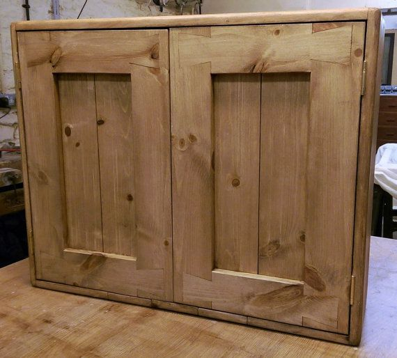 Wall Cabinet For Kitchen & Bathroom, Pale Wood, Eco