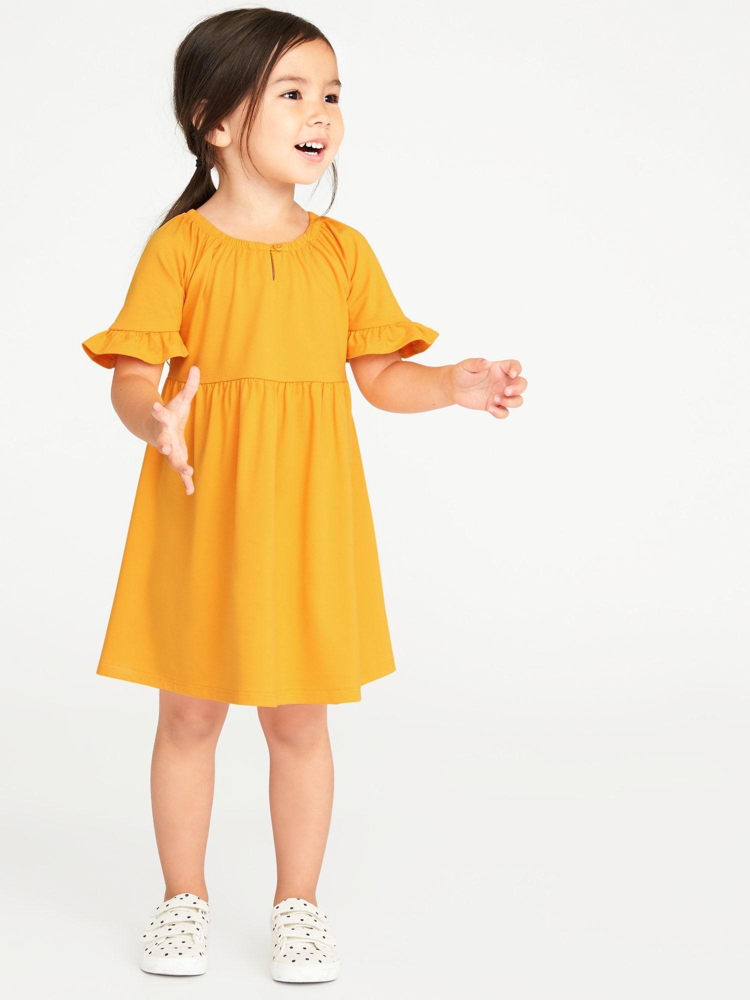 old navy yellow toddler dress buy