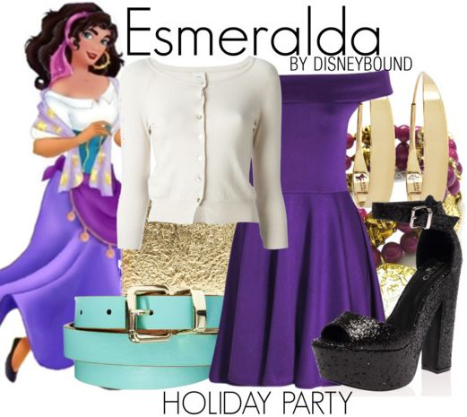 Disney Bound - Esmeralda