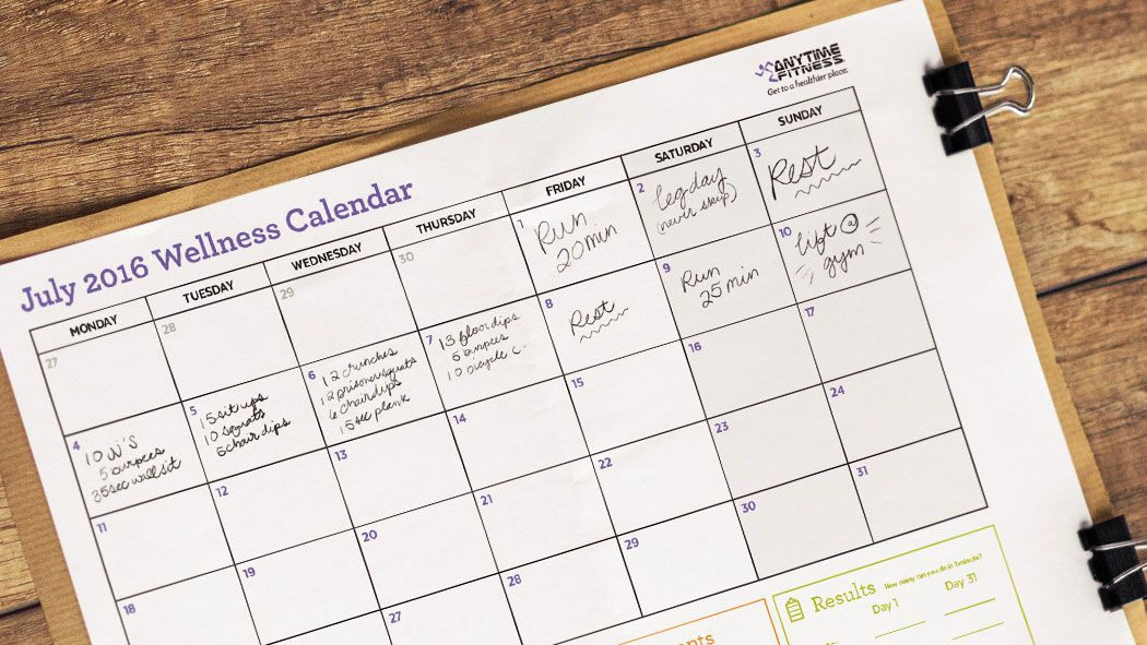 Enjoy summer, but keep yourself moving and accountable by tracking