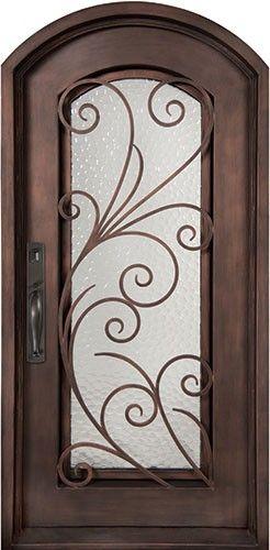 40x82 Summer Breeze Iron Door Beautiful Wrought Iron Front Entry