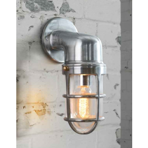 Vintage chrome industrial outdoor wall light i love retro vintage chrome industrial outdoor wall light i love retro reproduction of an early 20th aloadofball Image collections