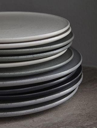 Ombria Teller in verschiedenen Größen von Kähler Design Pa 2 - geschirr modernen haushalt