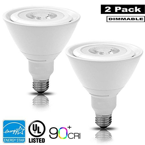 Luxrite Lr24144 2pack 17w Par38 Led Light Bulb 120w Equivalent Dimmable Cri 90 Bright White 5000k Flood Light Bul With Images Led Light Bulb Flood Lights Light Decorations
