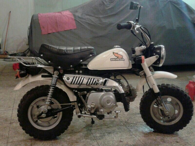 Baby Honda Motorcycle Bike Rider Pocket Bike Mini Bike