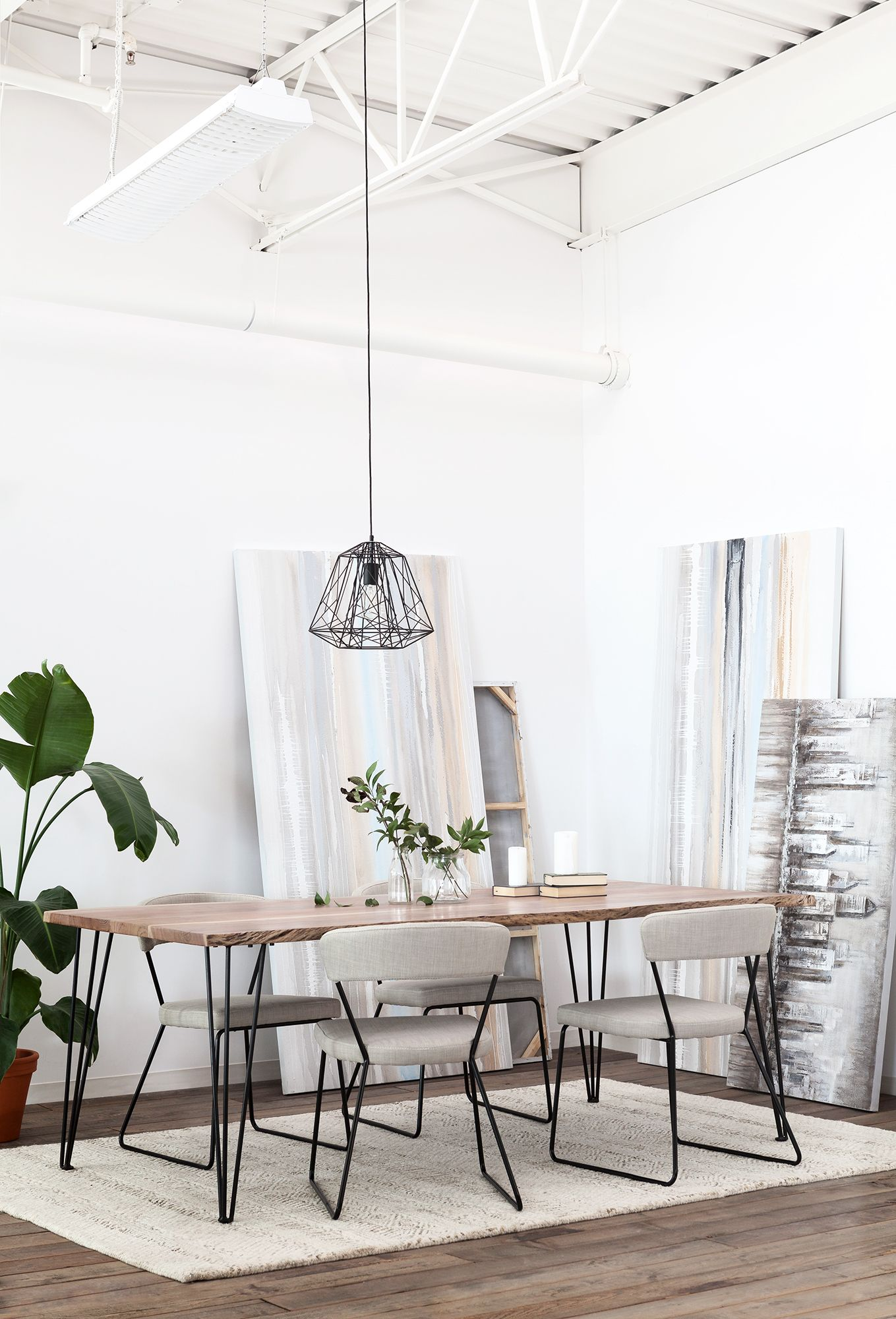 Reno Solid Acacia Wood Dining Table 210cm In 2019 Mango