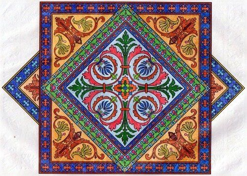 """Amazon.com - Dover Publications-Decorative Tile Designs Coloring Book - Coloring Books For Adults By Ray """"A Reader"""" on Sep 09, 2011"""